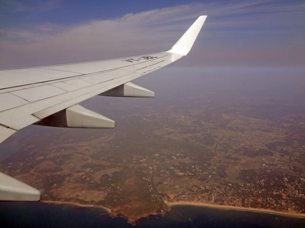 Blick auf Calangute (Goa, Indien)