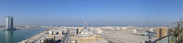 Blick auf Ras Al Khaimah