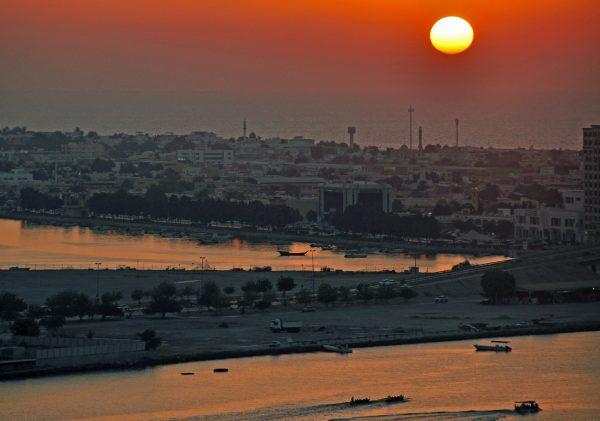 Sonnenuntergang in Ras Al Khaimah