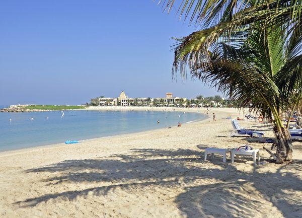 Der Strand vom Hilton Resort / Ras Al Khaimah