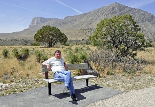Zinni im Guadalupe Mountains National Park