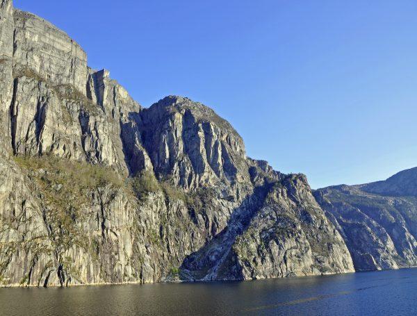 Der Preikestolen im Lysefjord