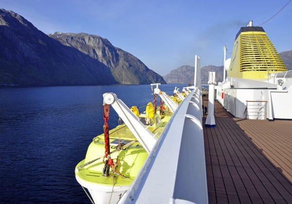 Die MS Azores im Lysefjord