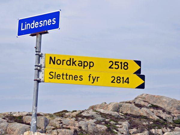 Nicht weit zum Nordkap