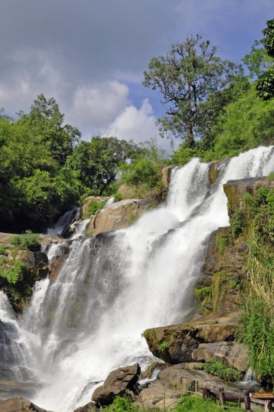 Die Mae Klang Wasserfälle im Doi Inthanon Nationalpark