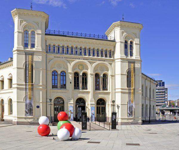 Das Nobels Fredssenter in Oslo
