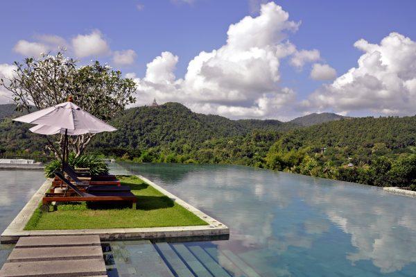 Der Pool des Veranda Chiang Mai Resorts