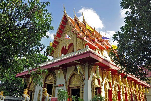 Das Wat Phra Singh in Chiang Mai