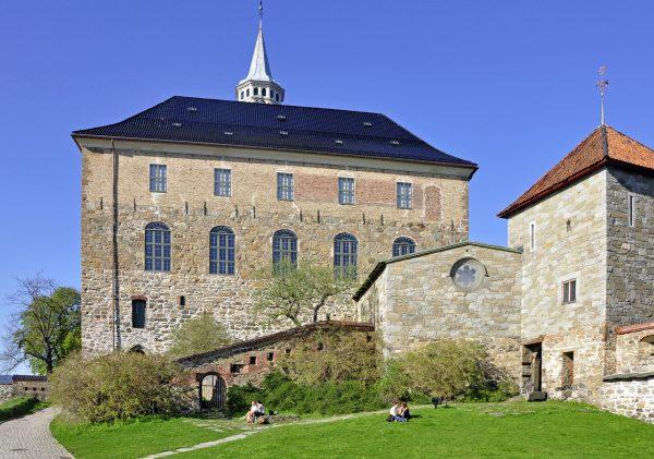 Die Akerhus Festning in Oslo