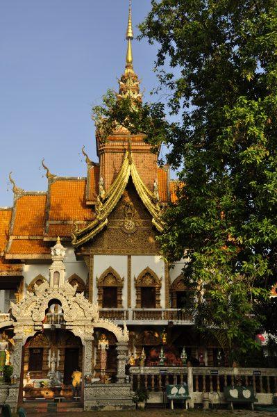 Tempel in Chiang Mai / Thailand