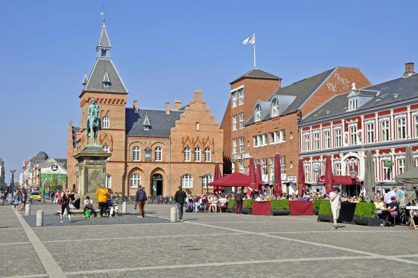 Die Innenstadt von Esbjerg