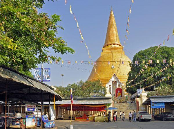 Der Phra Pathom Chedi (der höchste buddhistische Chedi weltweit)