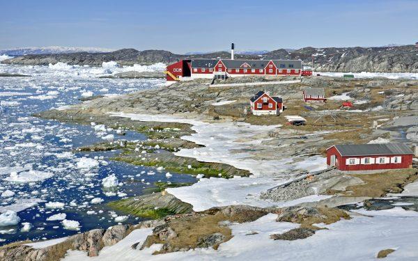 Das Hospital von Ilulissat