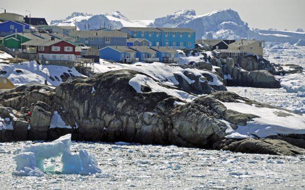 "Das ""Icefjord Hotel"" in Ilulissat"