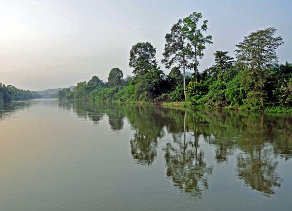 Unterwegs auf dem River Kwai