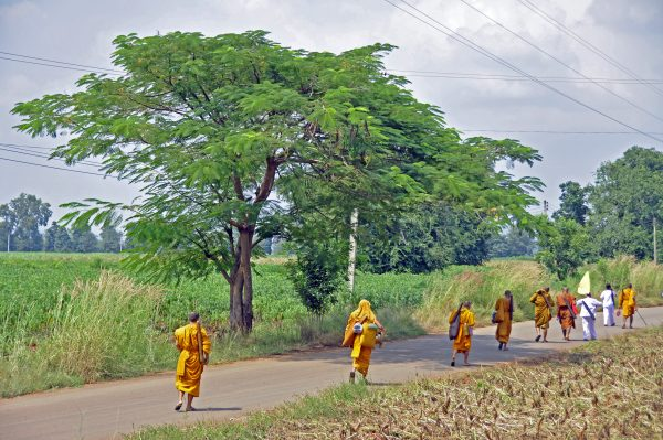 Mönche on Tour