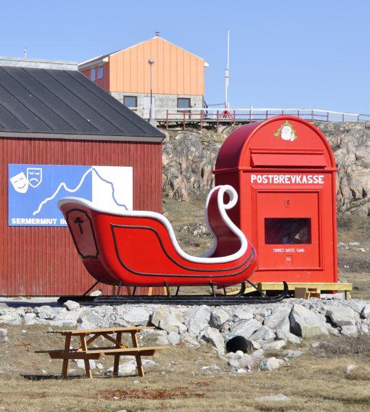 Der Briefkasten des Weihnachtsmannes in Ilulissat
