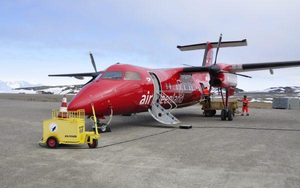 Ankunft in Qaarsut mit Air Greenland