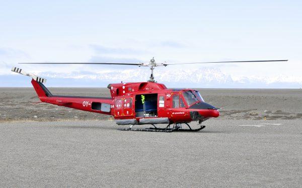 Abflug in Qaarsut mit Air Greenland