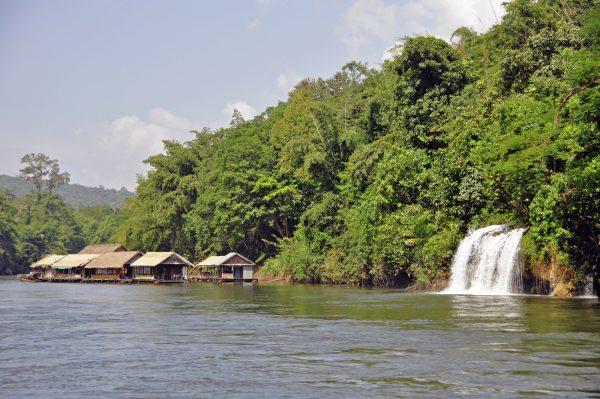 Die Sai Yok Yai Wasserfälle