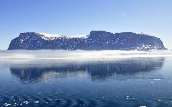 Ein Berg vor Uummannaq