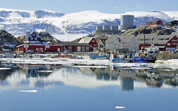 Der Ort Uummannaq