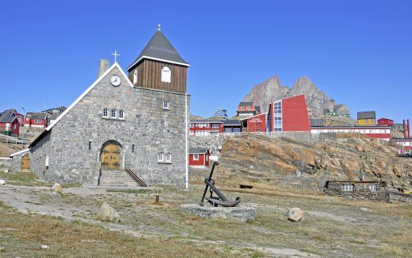Die Kirche von Uummannaq
