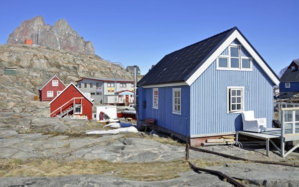 Das gebuchtes Haus in Uummannaq