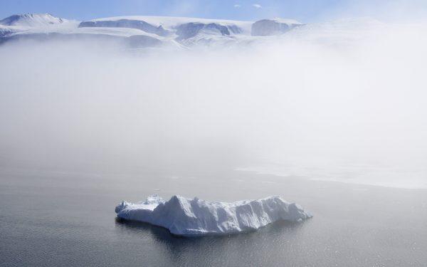 Ein Eisberg vor Uummannaq