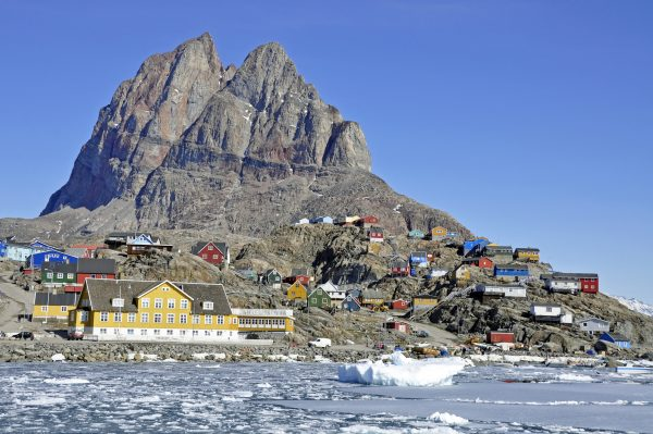 Der robbenherzförmige Berg von Uummannaq