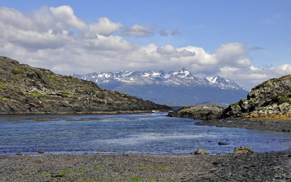 Landschaft nahe Ushuaia