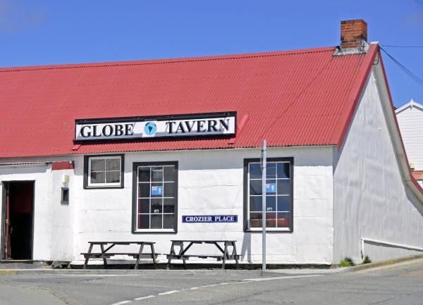 Die 'Globe Tavern' in Stanley auf Falkland