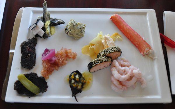 Meine Vorspeise im Restaurant Mamartut in Ilulissat