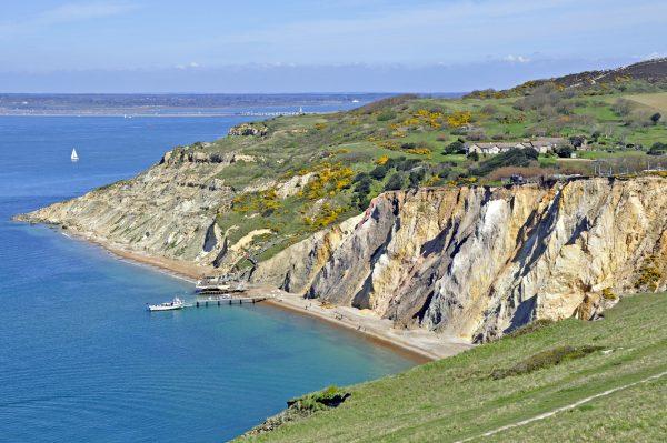 In der Nähe der Needles, Isle of Wight
