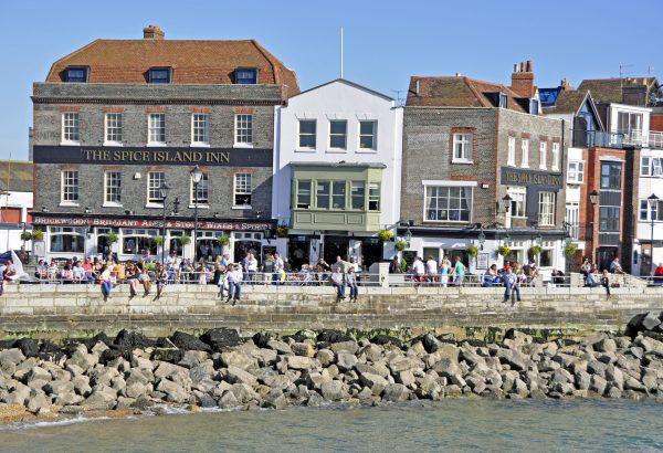 Ein Pub in Portsmouth
