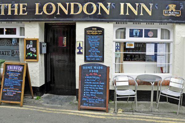 Ein Pub in Padstow, Cornwall