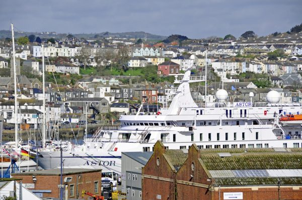 Die Astor in Falmouth (Cornwall)