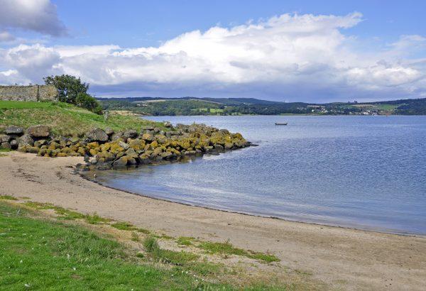 Die Insel Inchcolm nahe Edinburgh