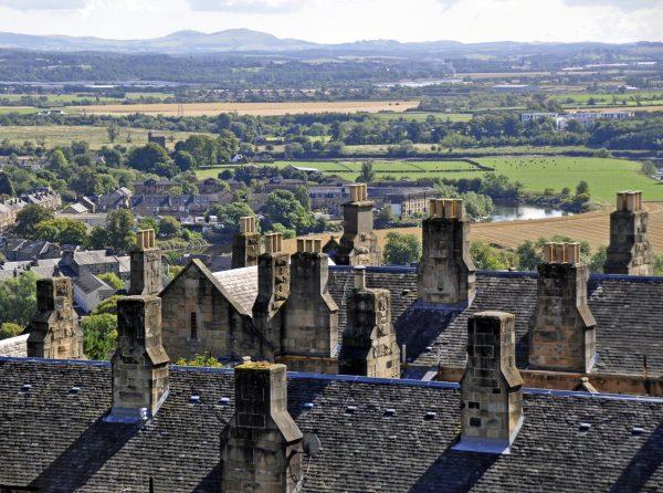 Blick auf Stirling