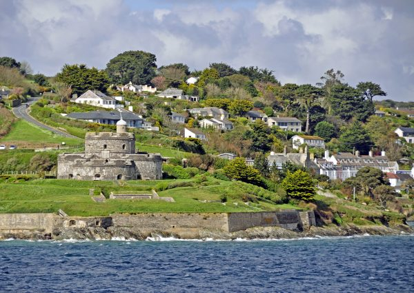 St Mawes Town und Castle, Cornwall
