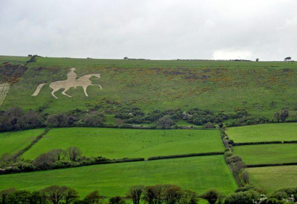 Osmington White Horse (erstellt 1808)