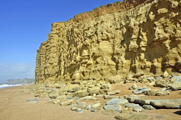 Die Jurassic Coast ('Jura-Küste')