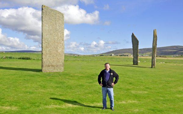 Zinni und die Stones of Stenness / Orkney