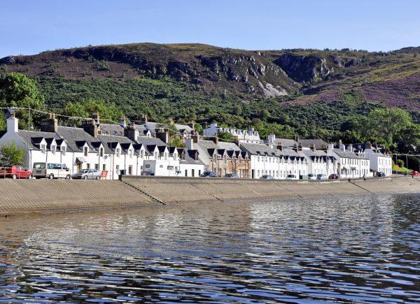 Blick auf Ullapool / Schottland