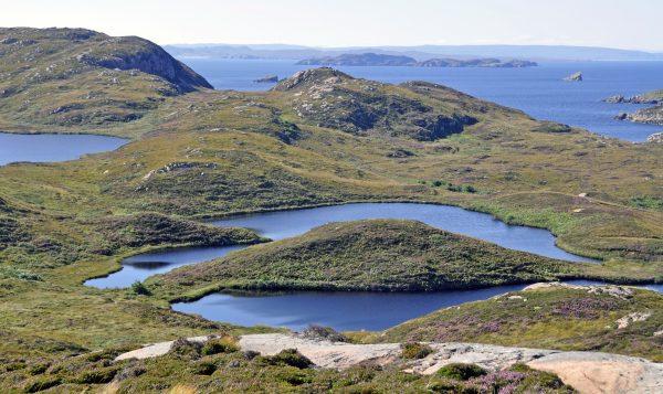 Blick auf die Summer Islands