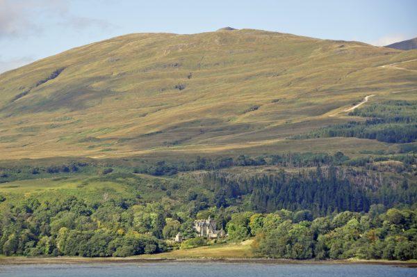Auf der Fahrt zur Isle of Mull