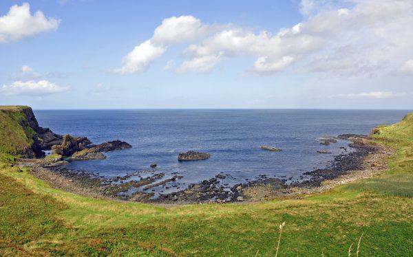 Unterwegs auf der Insel Carrick-a-Rede