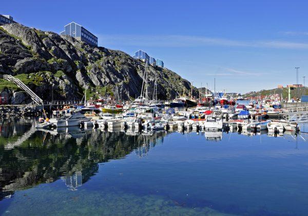 Im Hafen von Nuuk