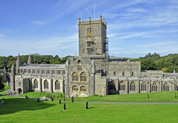 Die Kathedrale von St Davids / Pembrokeshire