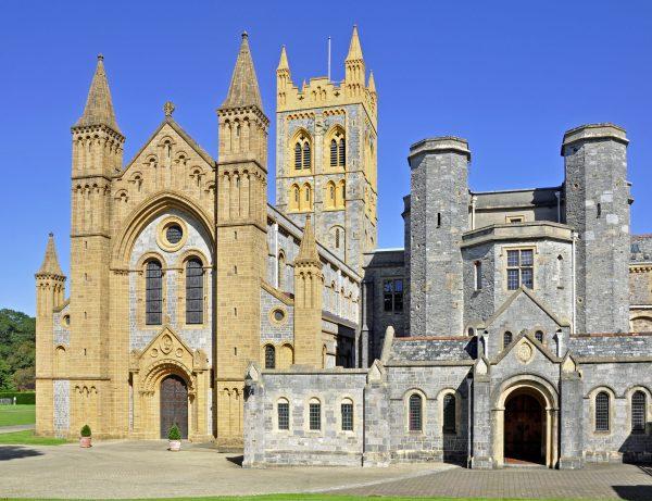 Die Buckfast Abbey in Buckfastleigh